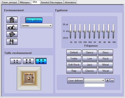 Effet roccat interface kulo