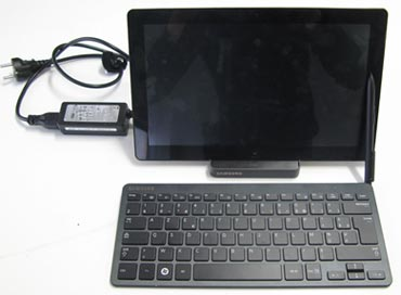 Slate PC sur dock