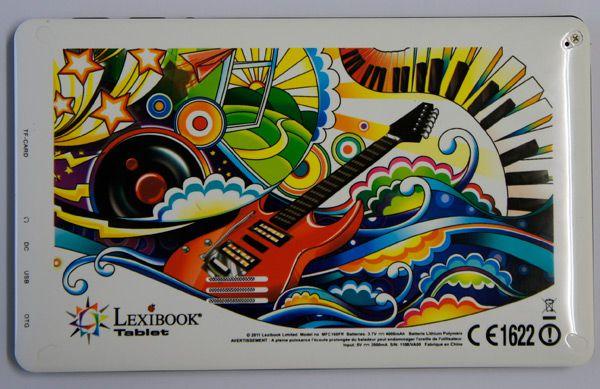 lexibook tablet dos