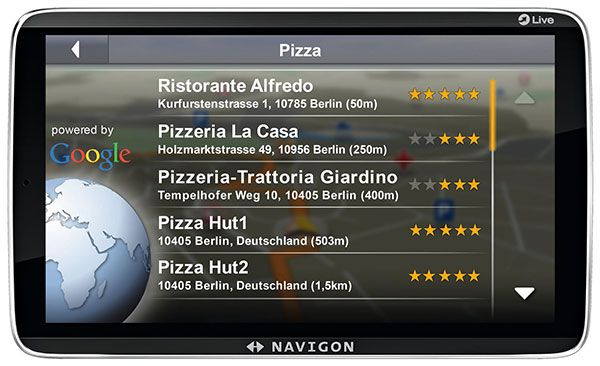 Navigon 92 Premium Live Google