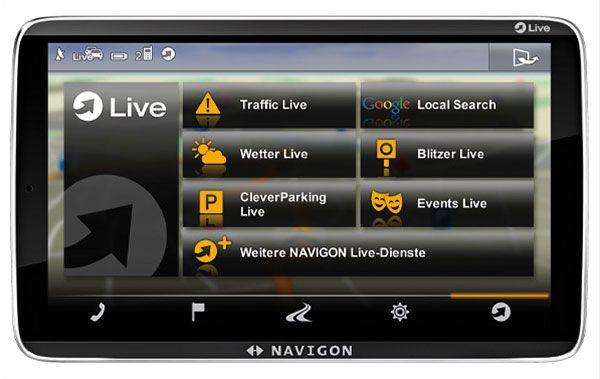 Navigon 92 Premium Live