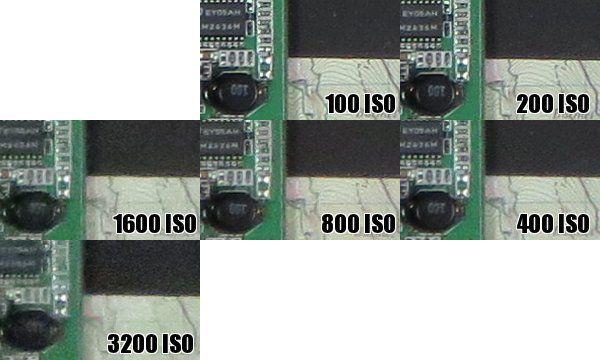 Sony HX200V iso