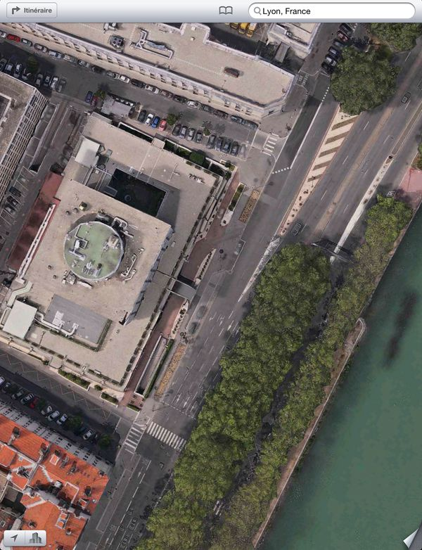 ios 6 plans Lyon