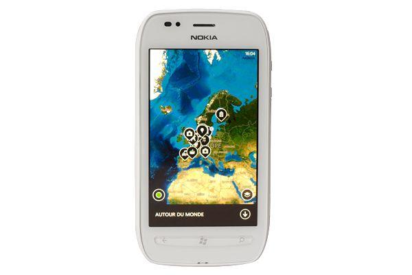 Google Map Nokia Lumia 710