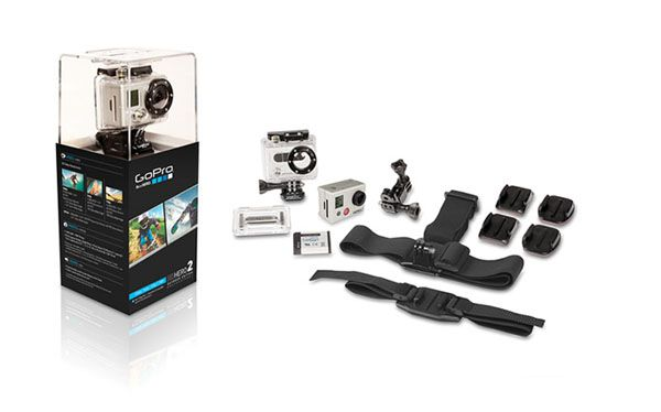 GoPro Hero2 packaging