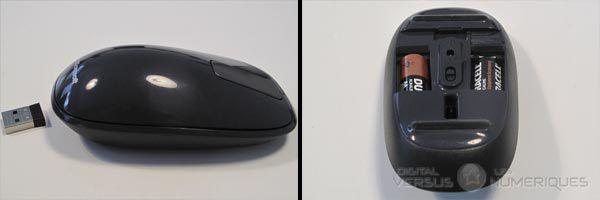 Explorer touch mouse tranche et pile