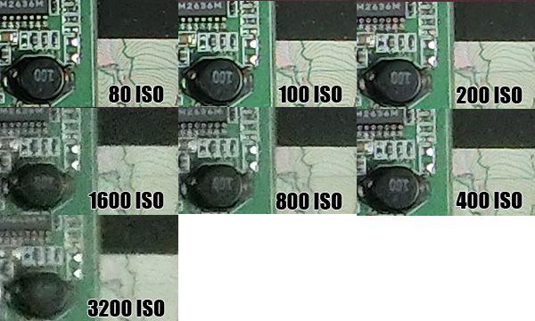 Montée ISO Casio EX-ZR200