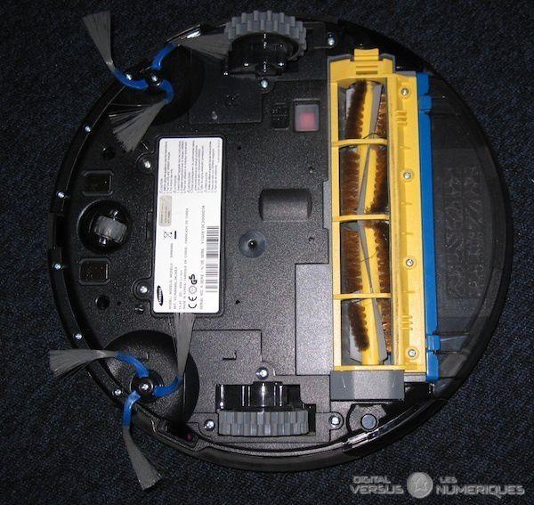 SamsungSR8980 dessous