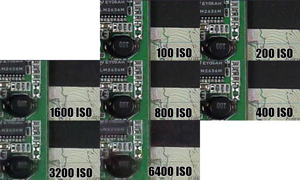 Montée ISO Panasonic GF5