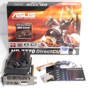 Mini asus radeon hd 7770 dcu top box