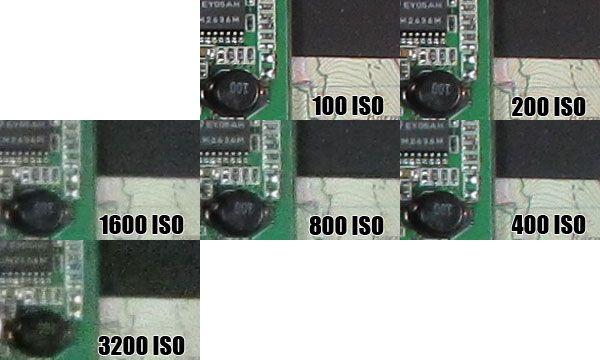 Canon D20 test review qualité des images à toutes les sensibilités