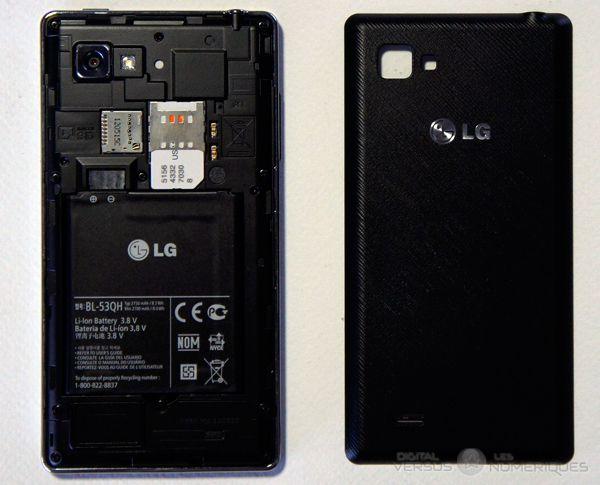 lg optimus 4X HD dos
