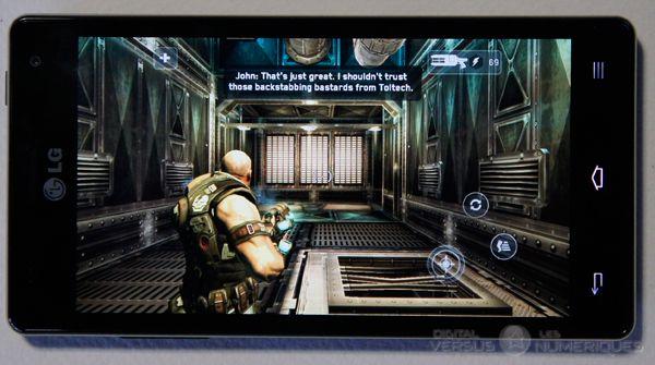 lg optimus 4X HD jeux