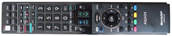 LC 46LE730E telecommande