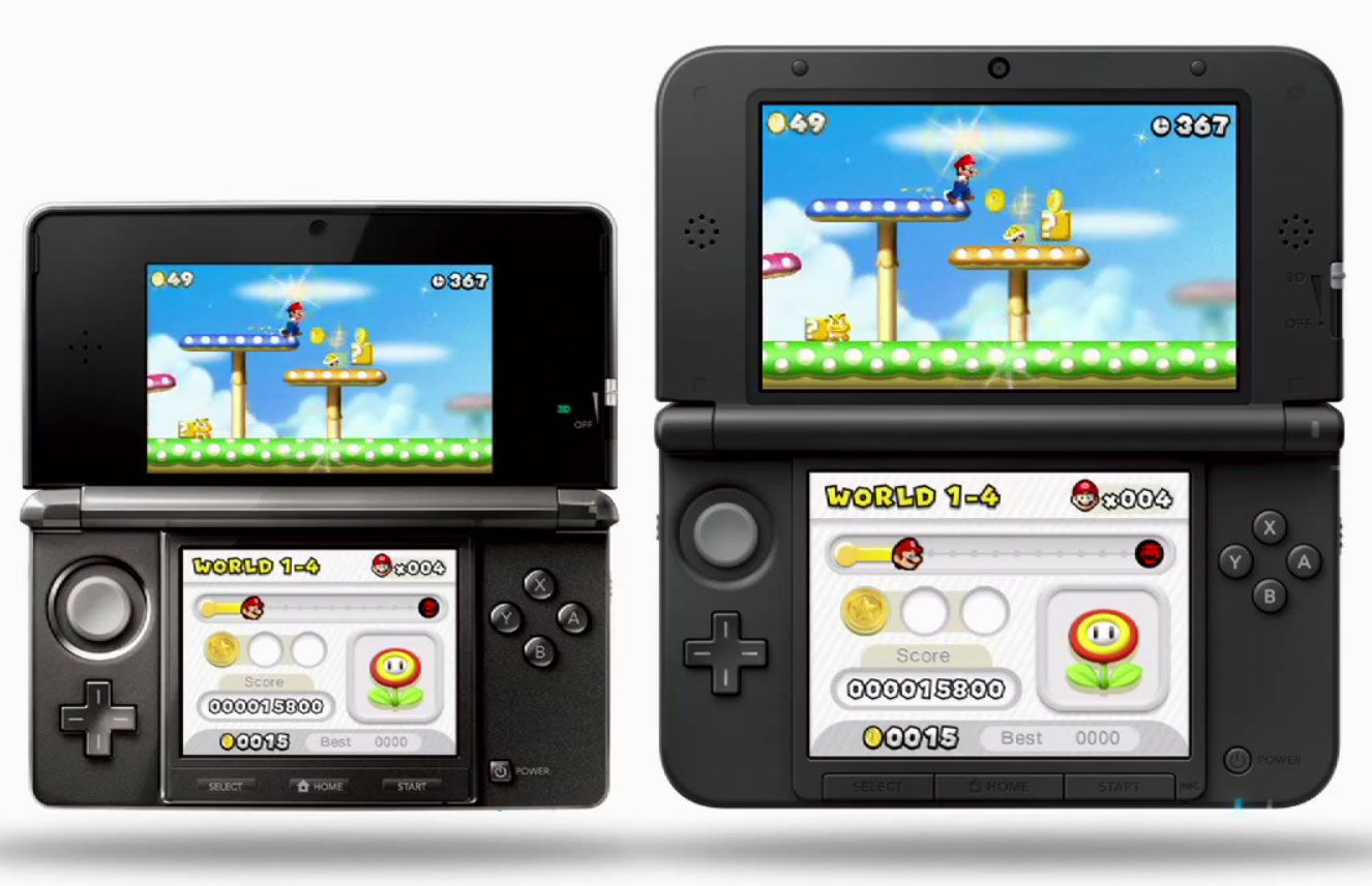nintendo 3ds xl test complet console de jeu les. Black Bedroom Furniture Sets. Home Design Ideas