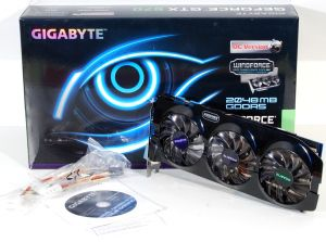 Mini gigabyte GV N670OC 2GD box