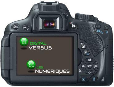 Canon 650D test review boitier vue de dos