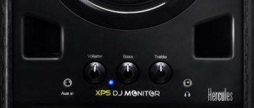 Herculs xps dj monitoring front