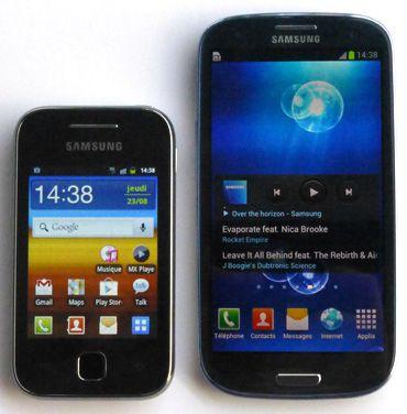 Galaxy s3 mini y