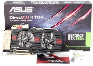 Mini asus geforce gtx 660ti dcuii top box