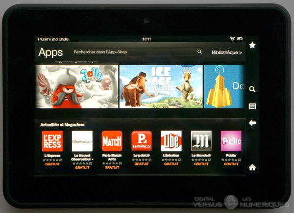 amazon kindle fire hd