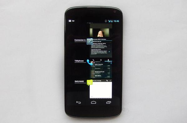Nexus 4 - Widgets