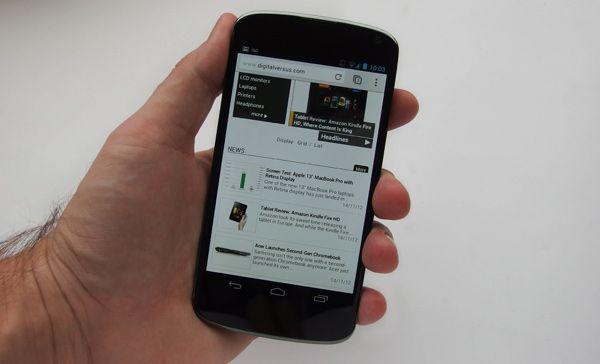 Nexus 4 - Web