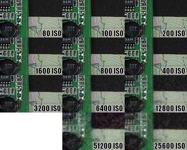 Montée ISO Pentax K-5 II