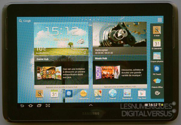 Samsung Galaxy Note 10.1   test, prix et fiche technique - Tablette ... 0e84f4ef16f9