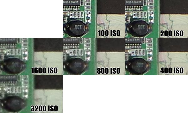 Montee ISO Camera