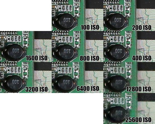 Canon EOS 6D test review qualité des images montée ISO