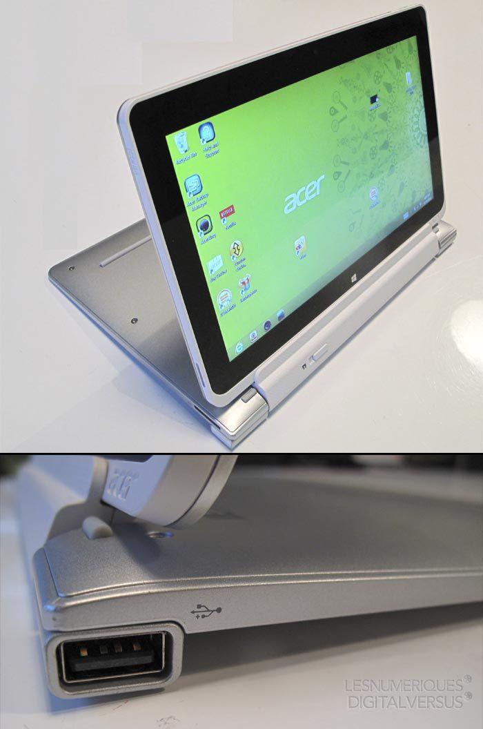 Acer w510 mode presentation