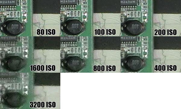 Casio ZR1000 montée ISO test review