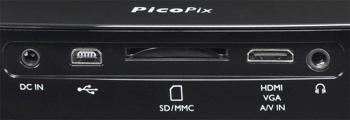 Picopix 2480 connectique