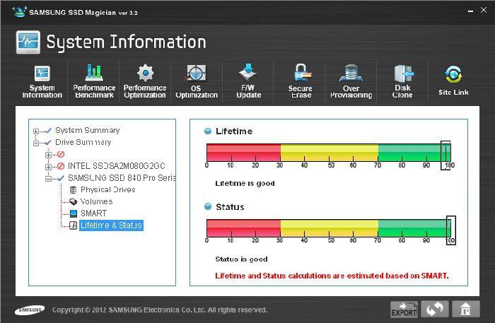 Samsung 840 pro 256 logiciel