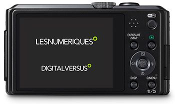 Panasonic TZ35 Back