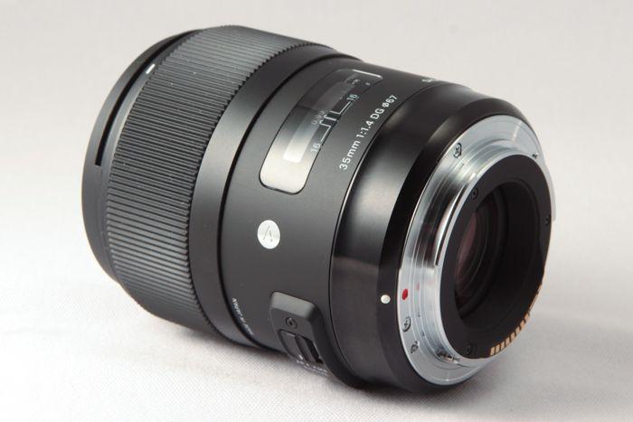 Sigma 35 mm f/1,4 DG HSM