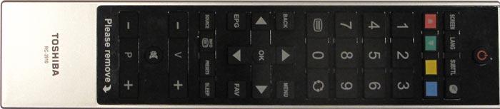 Toshiba 46BL712B telecomman