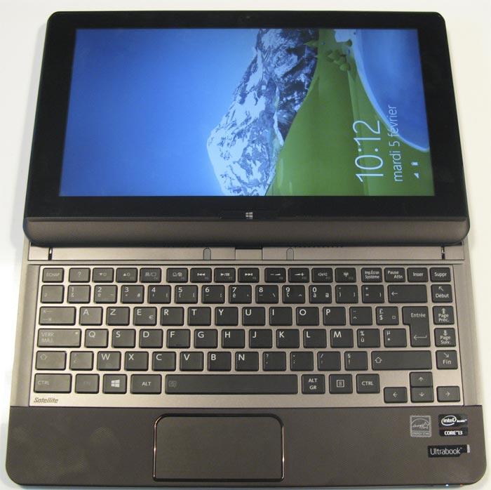U920t ouvert clavier
