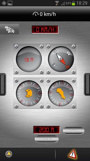 Navigon Android Boussole 01 300px