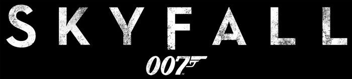 Skyfall Title white