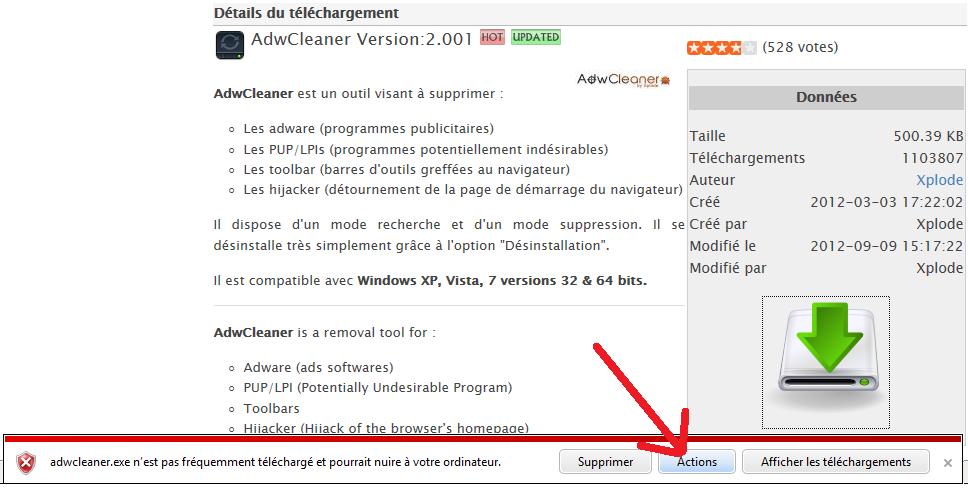 SmartScreen AdwCleaner 4