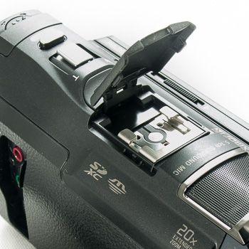 Sony pj650 test review detail griffe accessoire