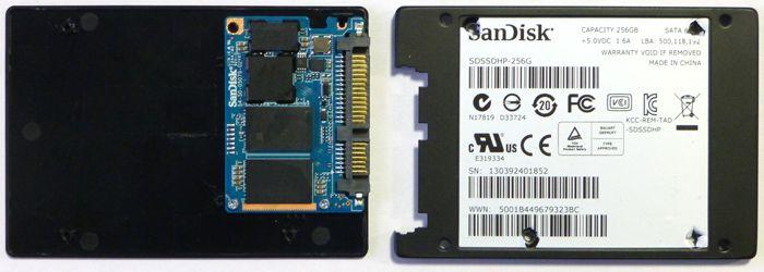 Sandisk Ultra Plus 256 pcb
