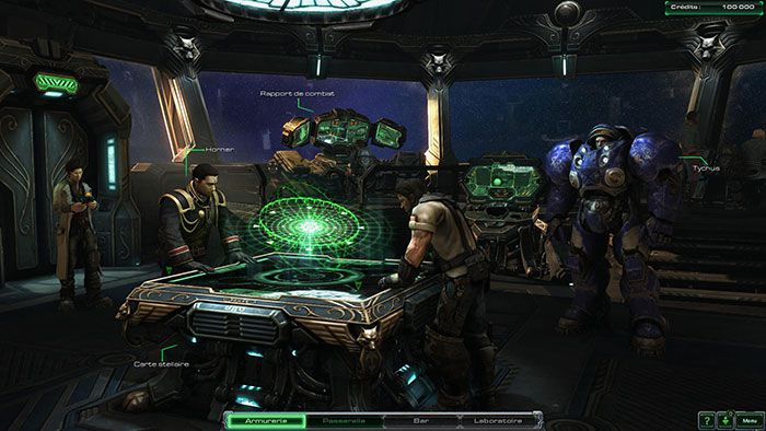 StarCraft 2 Wings of Liberty Passerelle 700px