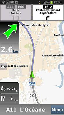Mappy GPS Free Nav 01
