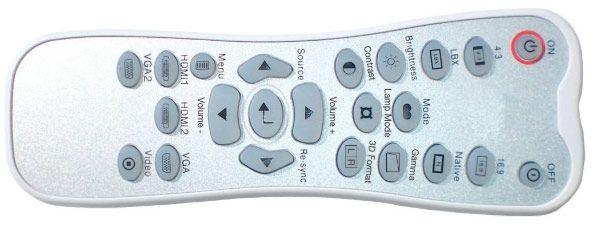 Optoma hd25 telecommande