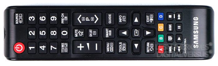 Samsung F8000 telecommande1