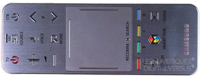 Samsung F8000 telecommande tactile