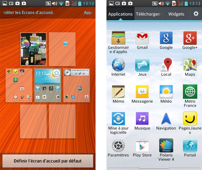 LG optimus F5 - screen shot